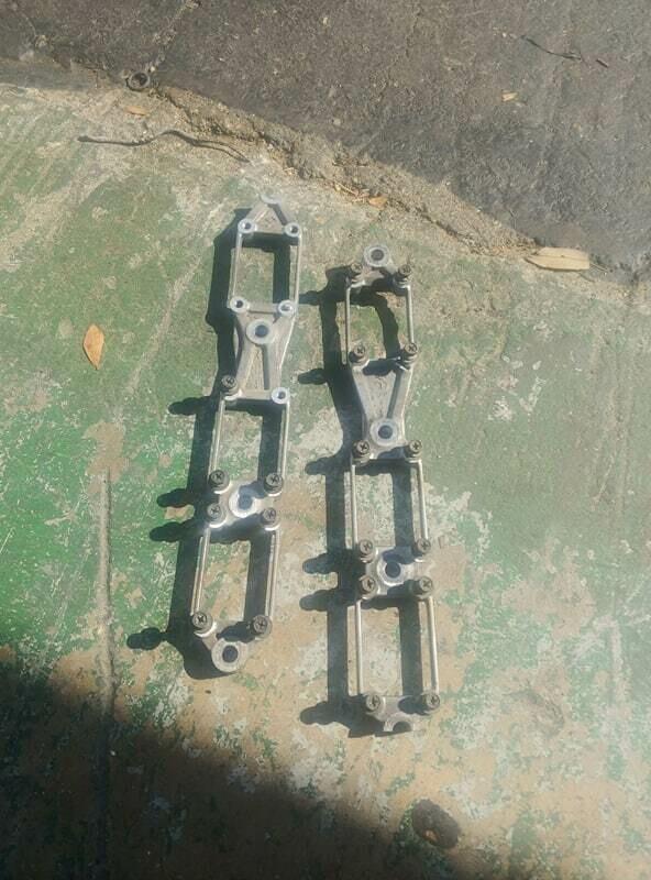 oem Rb coil pack bracket (used - one stuck and broken bolt)