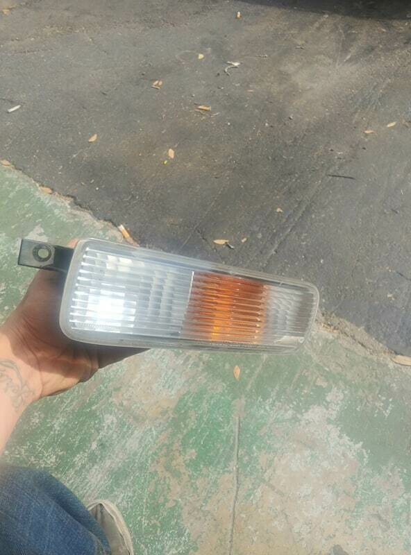 r33 gts25t driver side fog light (used) - cracked