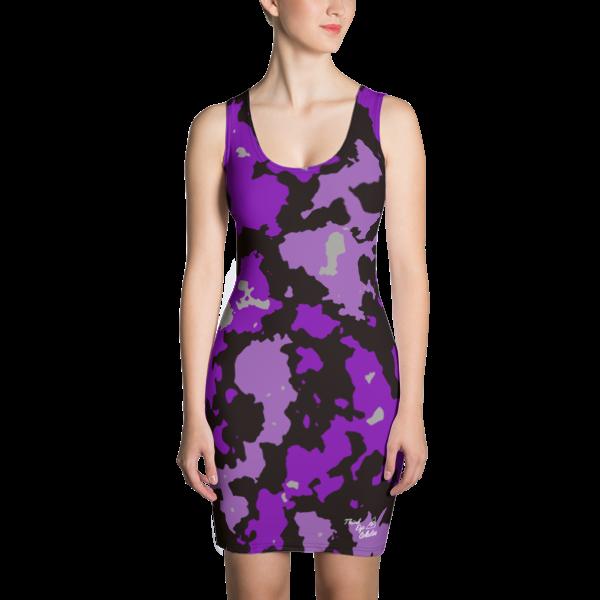 Purple Camo Third Eye Collective Cut & Sew Dress