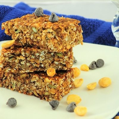 Protein Bars – Triple Peanut Dark Choc Chip​