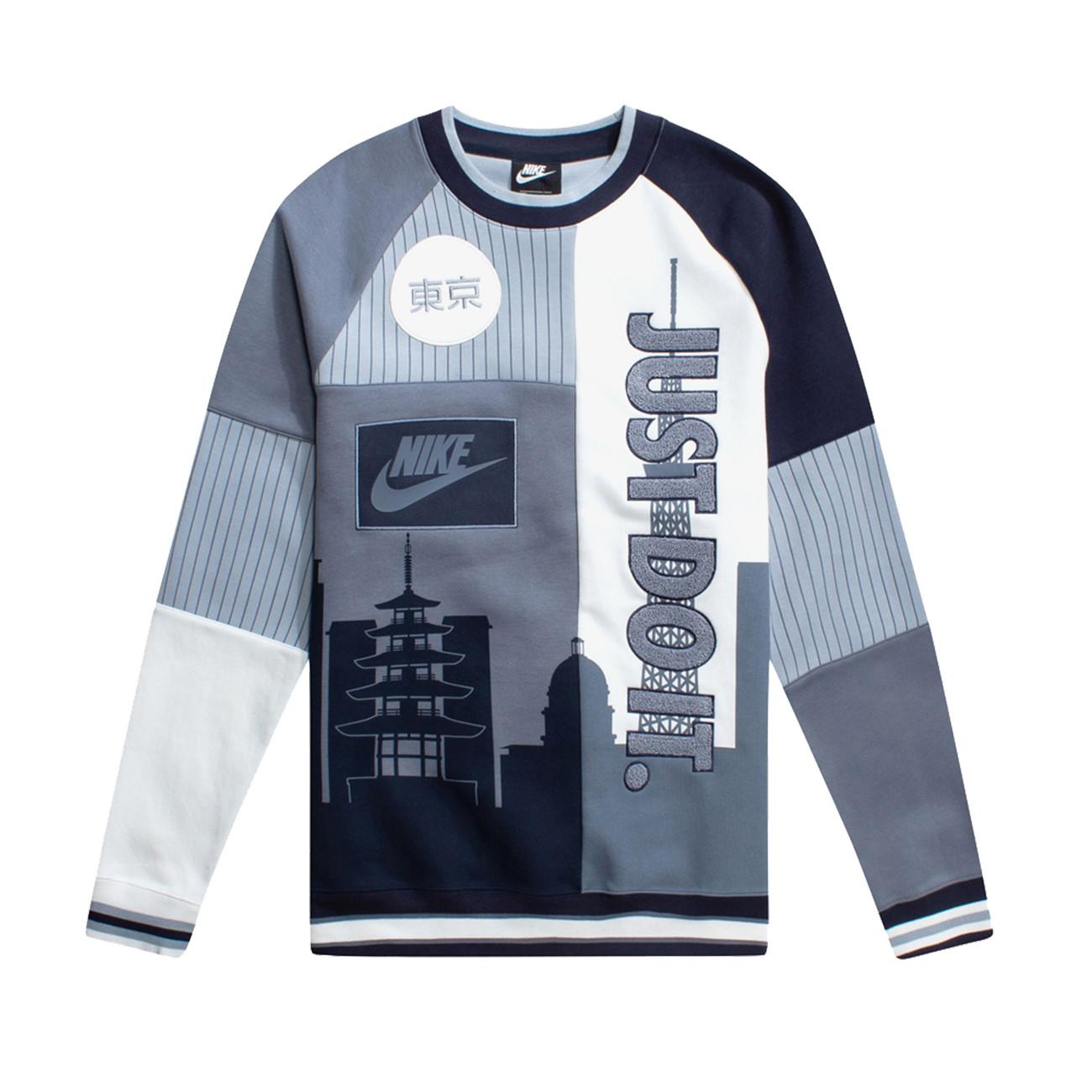 Tokyo Nike 7gybf6 Nsw Sweatshirt Crew xedCoB