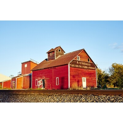 Untitled (Red Barn)