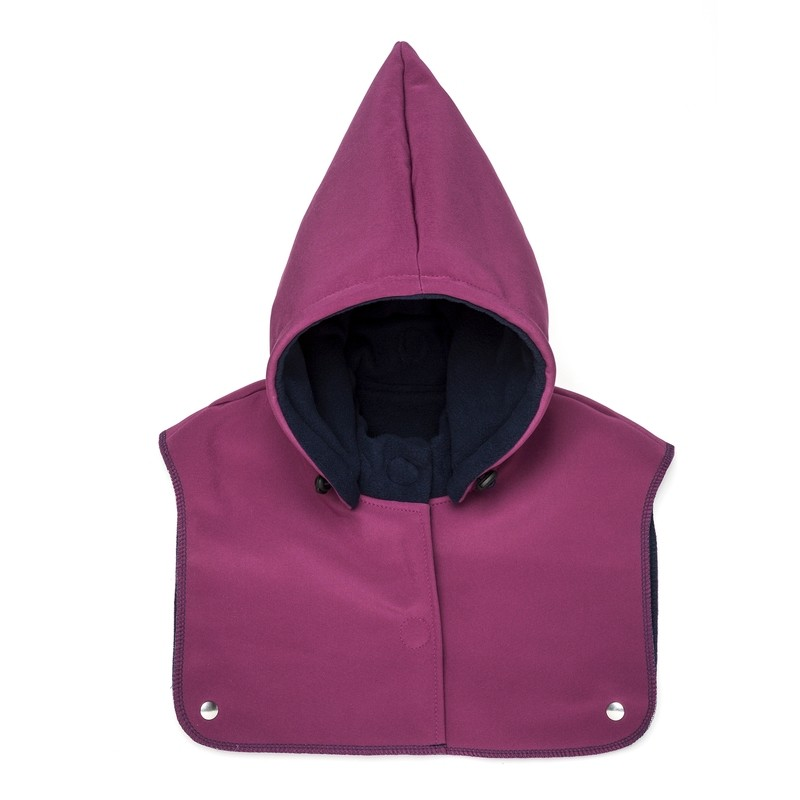 Mandala baby hood and neck warmer