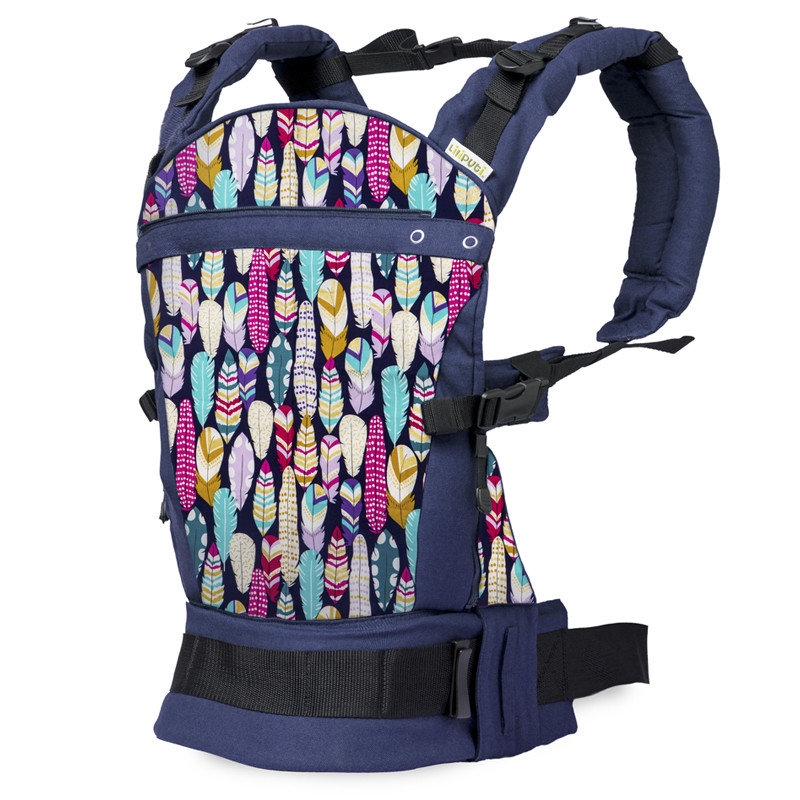 Feather buckle carrier