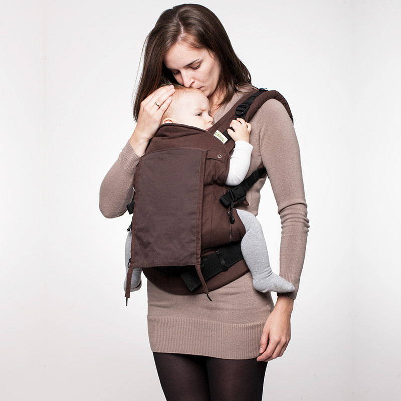 Espresso buckle carrier