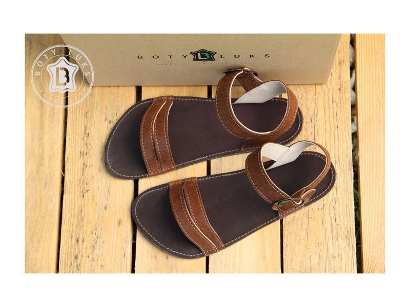 Boty Luks Verano sandaalid pruunid