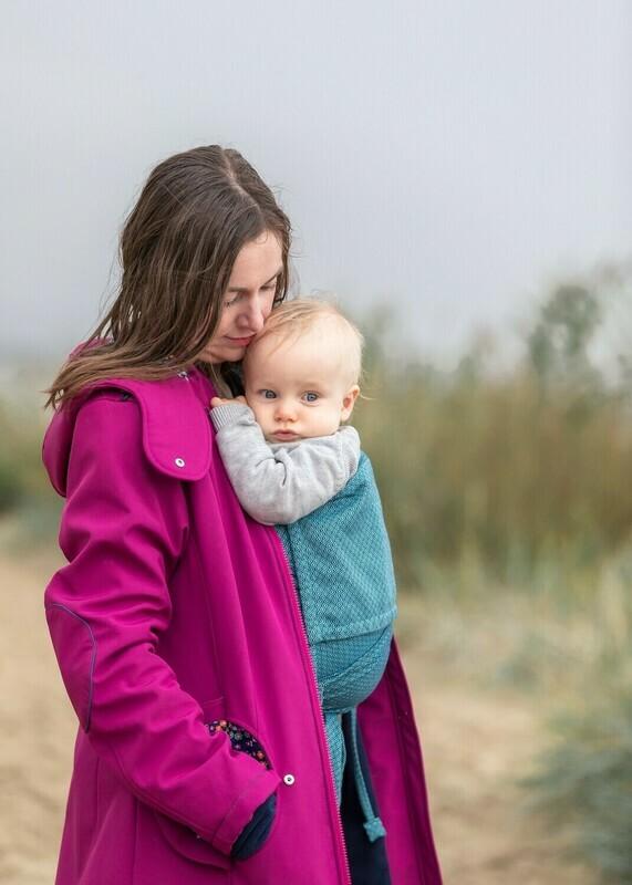 Mandala babywearing coat