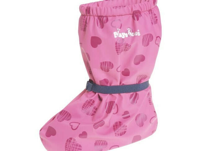 Playshoes covers with fleece lining
