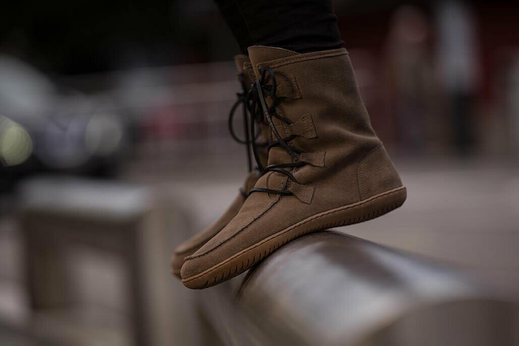 Groundies Alaska with wool winter boot