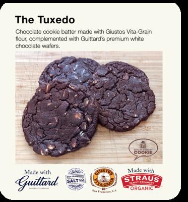 Large Tuxedo Cookies