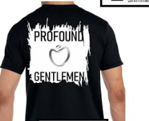 PG Black White Collection: Back View Shirt