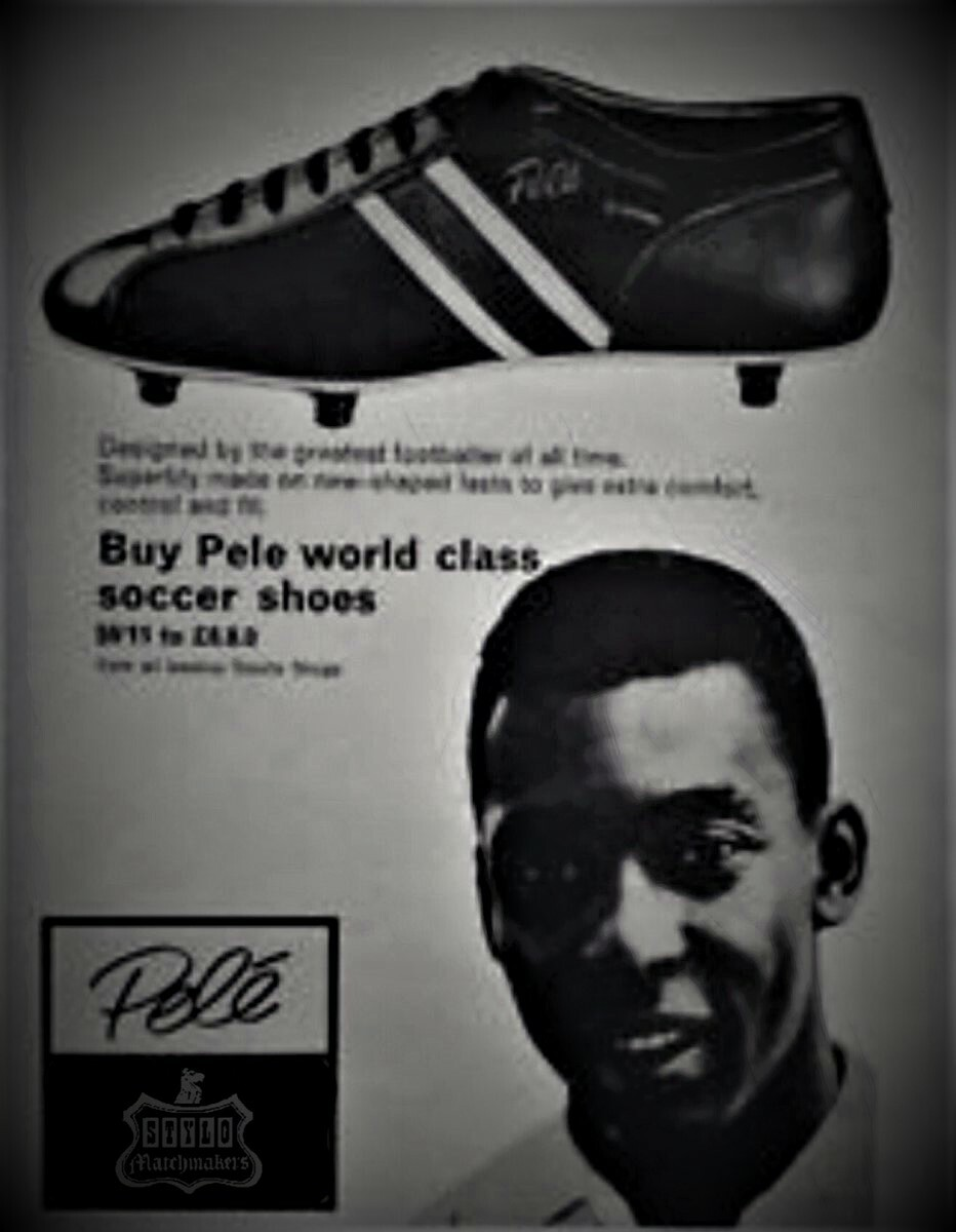 pele stylo matchmakers football boots