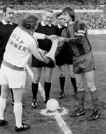 Billy Bremner in his stylo matchmakers 1974