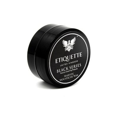 Hairbond Etiquette - Black Series - Beard (Majestic 15ml Moustache Wax)