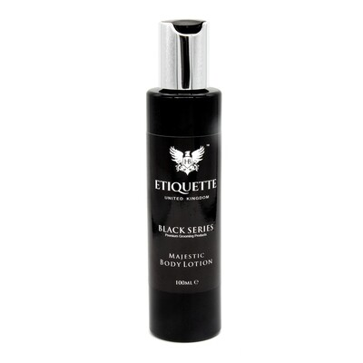 Hairbond Etiquette - Black Series - Body (Majestic 100ml Body Lotion