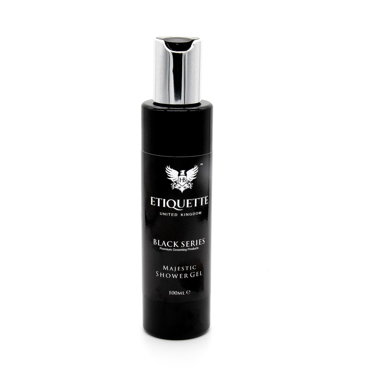 Hairbond® Etiquette - Black Series - Body (Majestic 100ml Shower Gel)