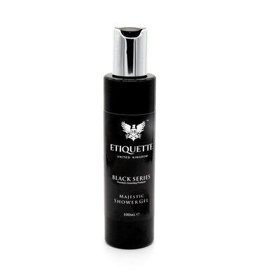 Hairbond Etiquette - Black Series - Body (Majestic 100ml Shower Gel)