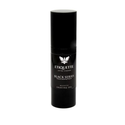 Hairbond Etiquette- Black Series-Face - 30ml Majestic Shaving Oil