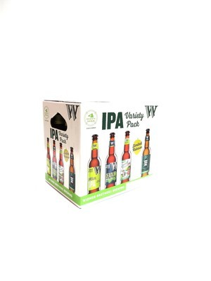 Hoppy IPA Variety Pack Limited Release by Widmer Brothers from Portland, OR 12oz 12pk Bottle (F5-5) H