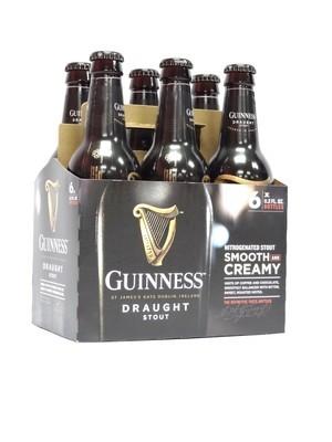 Guinness Draught Stout 11.2oz 6pk Bottle (F4-7)C