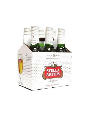Stella Artois 6pk/11.2oz Bottles (F17-6)H