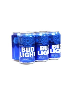 Bud Light 6pk/12oz Can (F18-2)