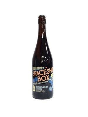 Superstition Cider Blueberry Spaceship Box 750ml (E4-1)