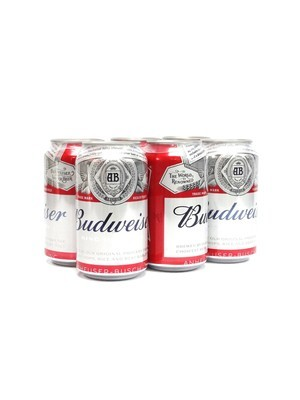 Budweiser 6pk/12oz Can (F18-2)