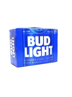 Bud Light 12oz 30pk Can()H