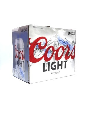 Coors Light 12oz 30pk Can()C