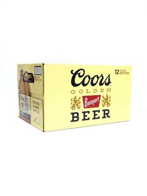 Coors Banquet 12oz 12pk Can ()C