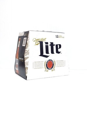 Miller Lite 12pk/12oz Bottle (F18-5)C