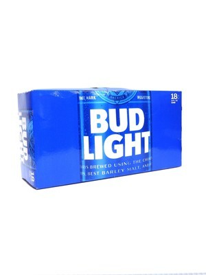 Bud Light 18pk/12oz Cans (F17-4)H