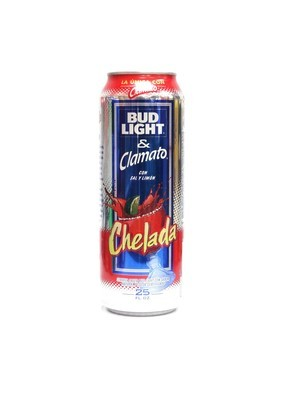 Bud Light & Clamato 25oz  (F16-4) H