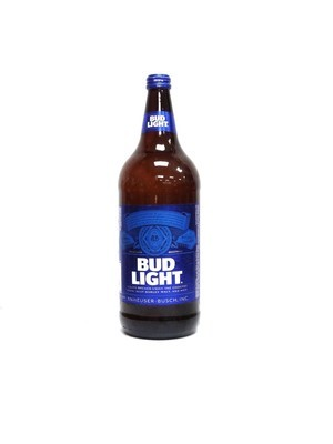 Bud Light 40oz Bottle (F15-6)H