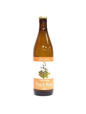 BeeHaven Sparkling Peach Mead 500ml (E4-3)6