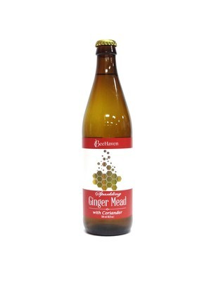 BeeHaven Sparkling Ginger Mead 500ml (E4-3)6