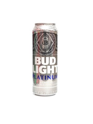 Bud Light Platinum 25oz Can (F16-2)