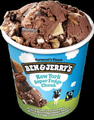 Ben & Jerry's New York Super Fudge Chunk 1pint