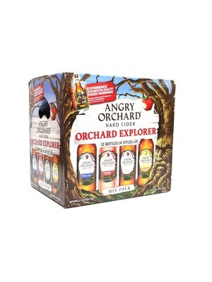 Orchard Explorer Hard Cider Variety Pk by Angry Orchard 12oz 12pk Bottle () C