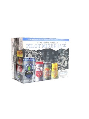 Pilot Mixed Variety Pk By Firestone Walker Brew from Paso Robles, CA 12oz 12pk Can () H
