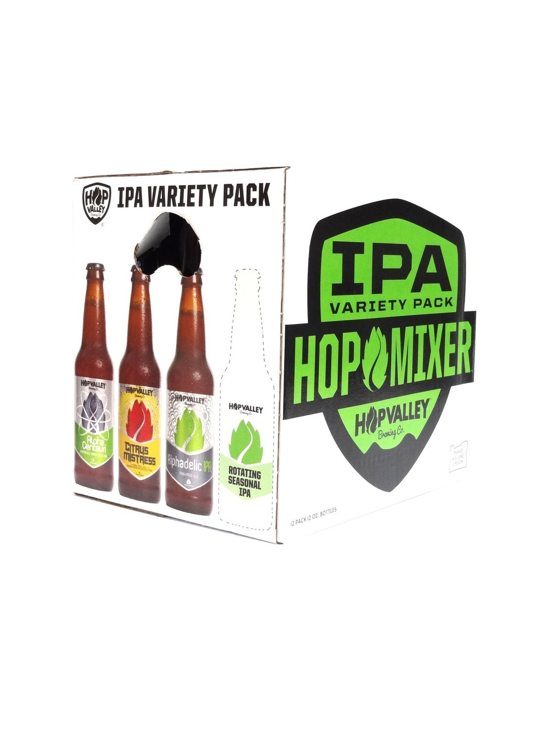 IPA Variety 12oz 12pk Bottle by Hop Valley ( )C