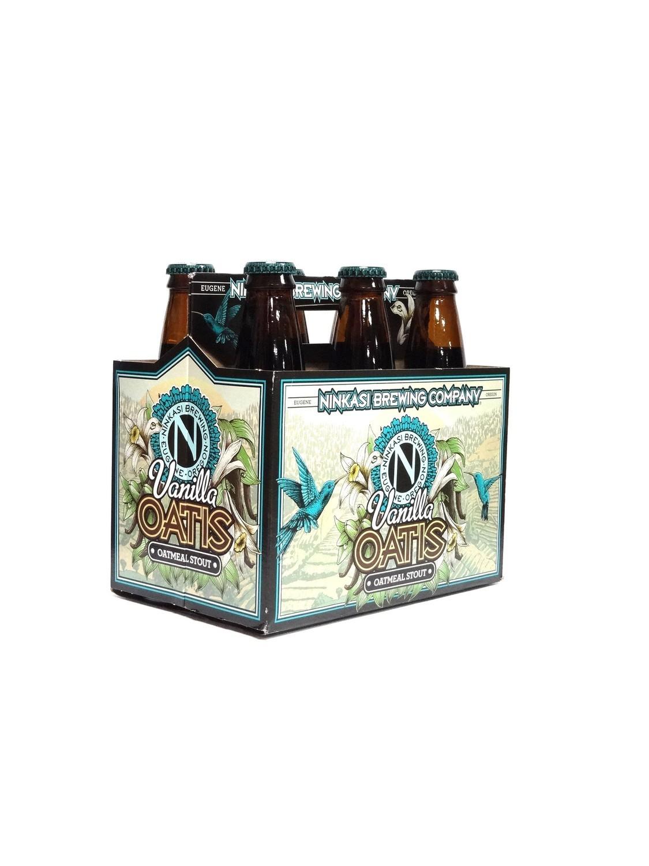 Vanilla Oatis Oatmeal Stout 6pk/12oz By Ninkasi Brewing Company (F9-2)