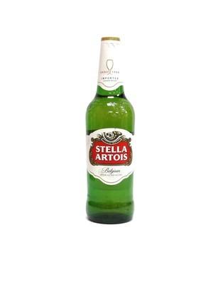 Stella Artois Lager 22.4oz  (F16-6)