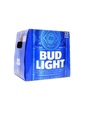 Bud Light 12pk/12oz  Bottles (F17-5)