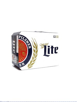 Miller Lite 12pk/12oz Can (F18-4)C
