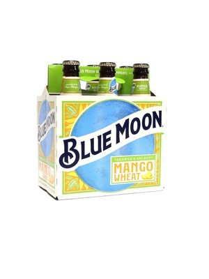 Mango Wheat By Blue Moon from Golden, CO 12oz 6pk Bottle (F17-5) C