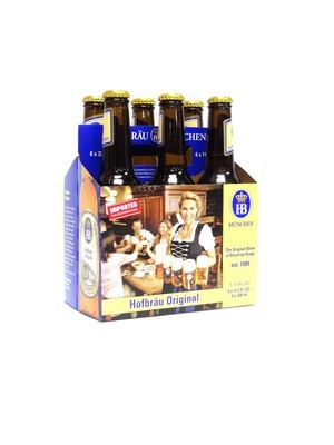 Hofbrau Original 12oz 6pk Bottle (F5-5)c