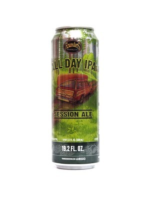 All Day IPA Session Ale By Founders Brew from Grand Rapids, MI 19.2oz Single Can (F3-3) H