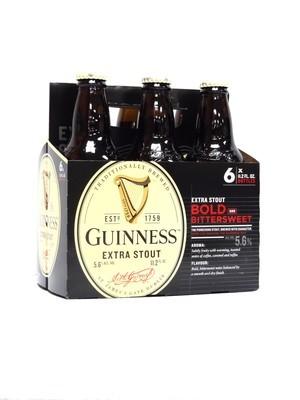 Guinness Extra Stout 11.2oz 6pk Bottle (F4-7)C